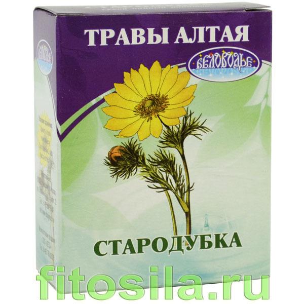 Адонис (стародубка), 50 г, коробочка, чайный напиток
