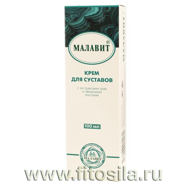 Малавит крем для суставов, 100 мл