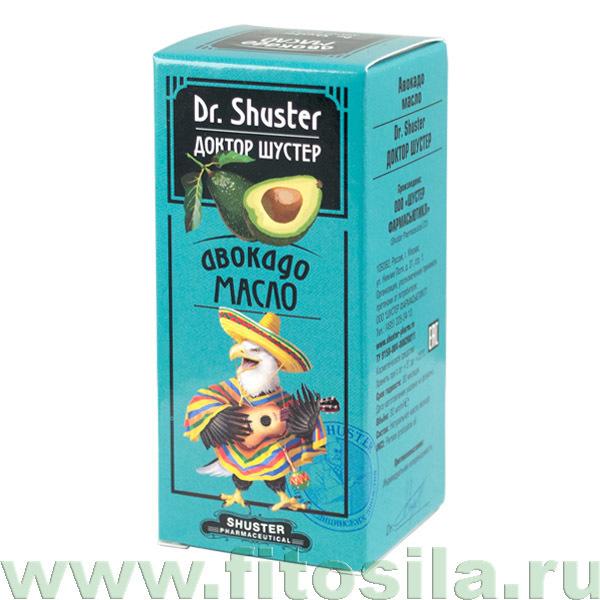 """Авокадо масло """"Dr. Shuster - Доктор Шустер®"""", 30 мл"""