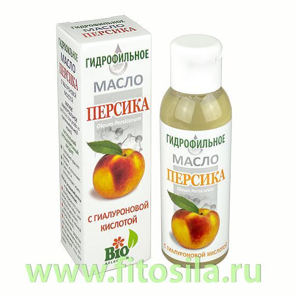 Персика гидрофильное масло с гиалуроновой кислотой, 100 мл, фл.