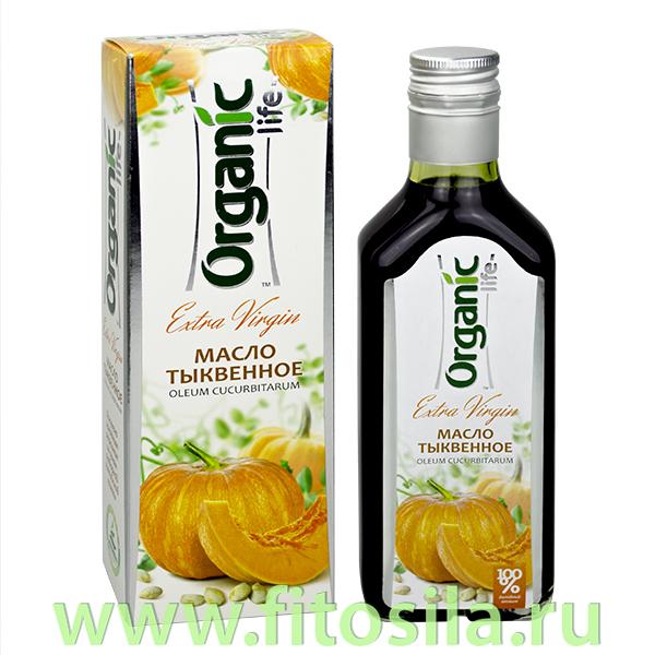 """Тыквенное масло нерафинированное пищевое, 250 мл, серия """"Organic life"""" (Специалист)"""
