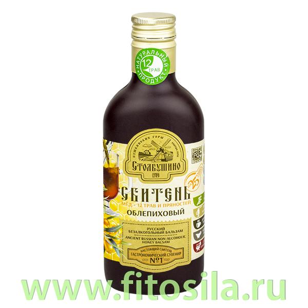 """Сбитень """"Столбушинский"""" Облепиховый, 250 мл"""