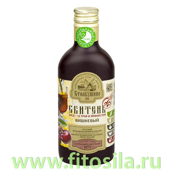 """Сбитень """"Столбушинский"""" Вишневый, 250 мл"""