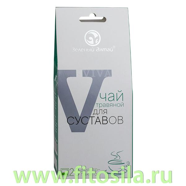 "Травяной чай для суставов ""VIVA"", 20 ф/п х 1,5 г, т. м. ""Зеленый Алтай""** Срок до 112021"