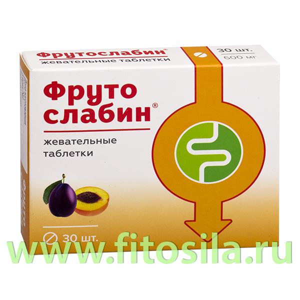"""Фрутослабин® """"Квадрат-С"""" - БАД, № 30 таблеток х 600 мг"""