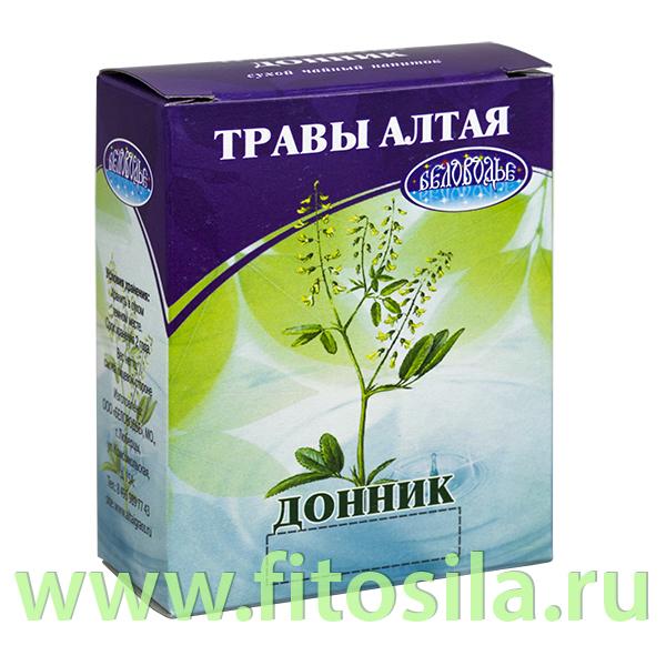 Донник, трава 50гр (коробочка), чайный напиток