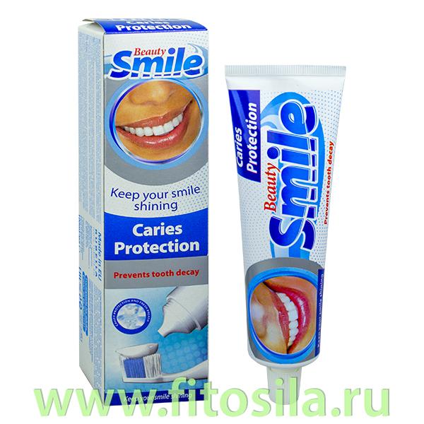 Зубная паста Защита от кариеса Beauty Smile Caries Protection, 100 мл