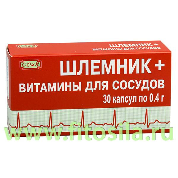 Шлемник + витамины для сосудов - БАД,