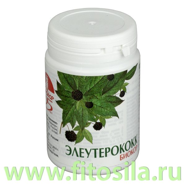 Элеутерококк Биокор - БАД, № 100 драже х 0,18 г, пластик